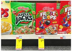 Kellogg's Apple Jacks Cereal, Only $0.99 at CVS!