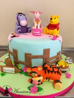 Barney & Friends  designer cake by Annica's