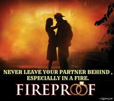 Never leave your partner behind, especially in a fire! #Fireproof #SqdnLdr