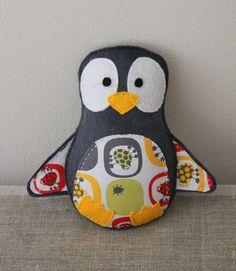 penguin softie by plushka