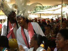 Mbira Players Oscar & Boniface at moyo Zoo Lake