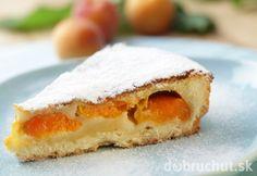 Šťavnatý marhuľový koláč