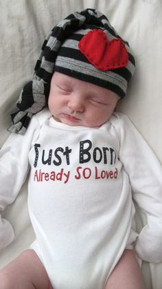 Newborn Coming Home Outfit- Baby Boy Newborn Onesie. Visit us for infant baby clothes and newborn baby boy clothes! Visit Little Adam and Eve for the most Unique Baby Onesies you can find! We design the highest quality Baby Boutique Clothing that is not just adorable, but also affordable!