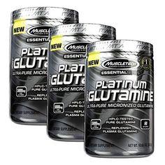 Platinum Glutamine 302 Gram (3 Pack)