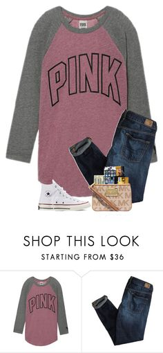 """""""I have so much homework"""" by preppyandsouthern17 ❤ liked on Polyvore featuring Victoria's Secret, American Eagle Outfitters and Converse"""