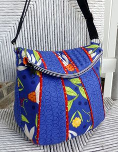 Cute bags patterns and moda fabric on Pat Sloan's blog