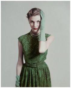 Photo by Herbert Matter for Vogue, 1948