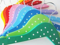 Different shades of Hand Painted hangers to choose. grab the one for you ... Comes in Set of 6 or Set of 12 .. Catchy colors to make your wardrobe more vibrant and you remain cheerful every time .... Keep watching this space, lot more options to choose ... Limited edition only .... Fall in the selected few category  Know more - www.akrazymug. com