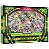 TCG: Shiny Rayquaza-EX Box Card Game (Discontinued by manufacturer)