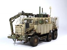 Buffalo 6X6 MPCV 1/35 Scale Model | SCALE MODELS 5 | Pinterest