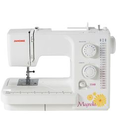 Easy to use features and supreme functionality unite in the Magnolia 7318. Its the perfect machine for all of your projects: quilting, garments, crafting, home dec, and more. With 18 decorative and ut