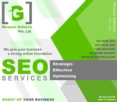 This pin is about the IT services that are provided by the iGreens Softech Pvt. Ltd.