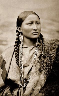 Pretty nose Cheyanne indian woman