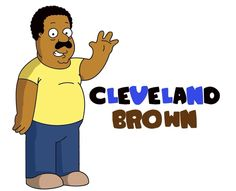 Cleveland brown drawn by me :)