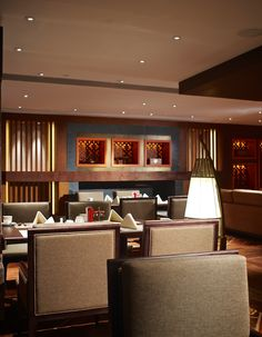 Horizon Club Lounge Shangri La Hospitality Lounge Spa Dining Room Studio