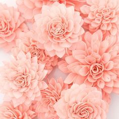 These coral wooden flowers are perfect for bridal showers, weddings, baby showers, as centerpieces at dinner parties or as an extra...