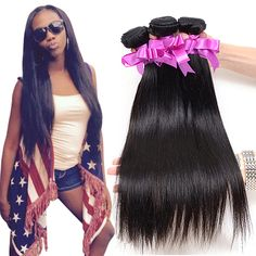 Cheap hair salon supplies wholesale, Buy Quality hair words directly from China hair circlet Suppliers: Peruvian Virgin Hair Straight 4 Bundles Peruvian Straight Virgin Hair Human Hair Peruvian Straight Human Hair Weaves Weave Hairstyles, Straight Hairstyles, Queen Hair, Hair Weaves, Human Hair Extensions, Virgin Hair, Cheap Hair, Free Shipping, Gift Bags