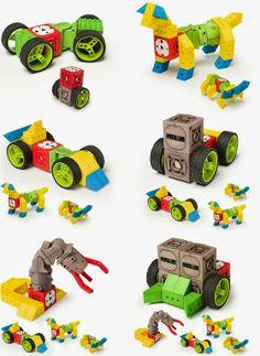 TinkerBots Educational Robotic Building Set