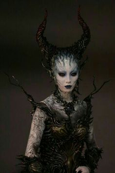 Isn't That Just Dandy? — effectsmakeup: Special effects makeup by… Isn't That Just Dandy? — effectsmakeup: Special effects makeup by… Prosthetic Makeup, Sfx Makeup, Costume Makeup, Demon Costume, Demon Makeup, Fantasy Costumes, Cosplay Costumes, Dandy, Halloween Make Up