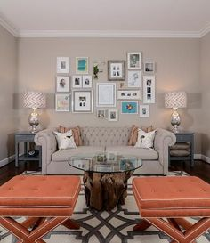 The Decorating Mistake Nearly Everyone Makes California-based interior designer Kerrie Kelly sees it all-too-often: Wall art hung way, way too high. ?You want your eyes to rest right in the middle area of a piece,? she told Yahoo Makers.