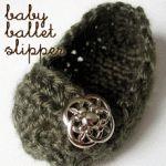 baby slipper crochet pattern.