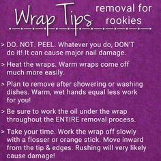 Removal tips ♡ Jamberry Nails  https://katymac.jamberry.com/us/ and select Kathryn McCauley as your consultant!! :)