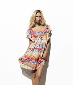 Natasha Poly goes commercial for 'The Garden Collection' by H&M's lookbook. Inspired by a 1970s bohemian look, the spring line features flowery prints and billowy fabrics. Look for the eco-friendly collection in H&M stores this March. source | HQ Models Enjoyed this update?Stay up to date, and subscribe to our mailing list! Related
