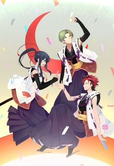 Vampire Knight, Ensemble Stars, Touken Ranbu, Anime, Akatsuki, Cosplay Costumes, Design Art, Fan Art, Illustration