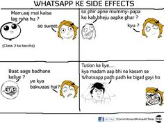 Whatsapp side effects