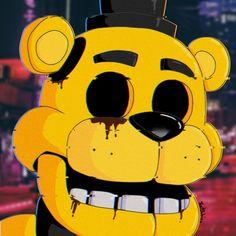 Fnaf Golden Freddy, Freddy S, Deadpool Wallpaper, Fnaf Wallpapers, Fnaf 1, Fnaf Drawings, Five Nights At Freddy's, Alien Logo, Creepy