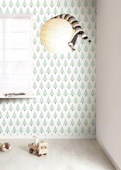 1000 images about papier peint on pinterest kitsch wallpapers and harlequ - Papier peint petit pan ...
