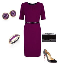 """""""Untitled #13"""" by willimodawn on Polyvore featuring Precis Petite, Christian Louboutin, Marco Bicego and Alexis Bittar"""