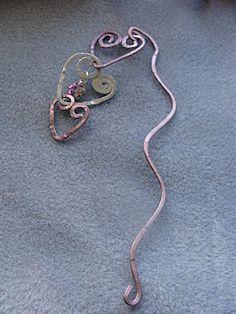 wire work bookmark
