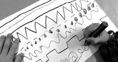 """Sapevate che l'origine della parola linea deriva dal latino lineus """"di lino"""" e significa """"filo, cordicella di lino""""? E che una serie di pu... Montessori, Zentangle, Arabic Calligraphy, Asia, Education, Lab, Fit, Zentangles, Learning"""