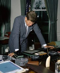 Our dear President John F Kennedy....