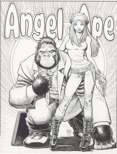 In Trash We Trust — Angel and the Ape by Art Adams