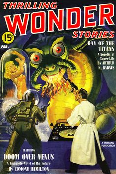 Thrilling Wonder Stories - Titans