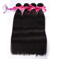 Find More Human Hair Extensions Information about KUNNA Brazilian straight…