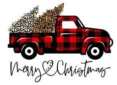 Christmas Truck, Plaid Christmas, Christmas Svg, Christmas Shirts, All Things Christmas, Xmas Shirts, Scandinavian Christmas, Modern Christmas, Christmas Images