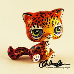 Lisa Frank Hunter custom LPS by thatg33kgirl on DeviantArt