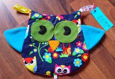 Dieses tolle kuschelige Eulen Schmusetuch mit Knistereffekt wird auch ihr Baby…