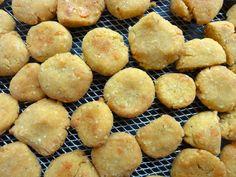 Mais-Käse-Kekse