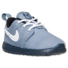 Boys Toddler Nike Roshe Run Casual Shoes | Finish Line | Magnet Grey/White/Black