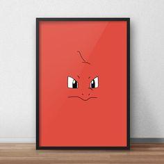 Een persoonlijke favoriet uit mijn Etsy shop https://www.etsy.com/nl/listing/590214104/charmeleon-pokemon-printed-canvas
