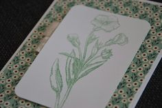 Stampin up clear embossed