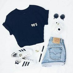 New trend dress 20190315 cute summer outfits, short outfits, trendy outfits Cute Casual Outfits, Short Outfits, Stylish Outfits, Shorts Outfits For Teens, Casual Teen Style, Casual Summer Outfits Shorts, Summer Outfits For Teen Girls Hipster, Hipster School Outfits, School Ootd
