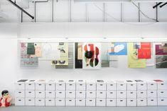 Feed Tank by Studio Feed Exhibition Display, Museum Exhibition, Exhibition Ideas, Environmental Graphics, Environmental Design, Design Club, Bookbinding, Signage, Digital Prints