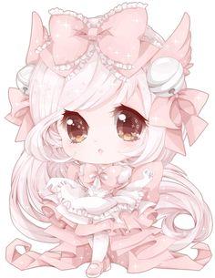 "vanilla-cherie: "" Kawaii Angelic Princess~ Watch the speedpaint here~! """
