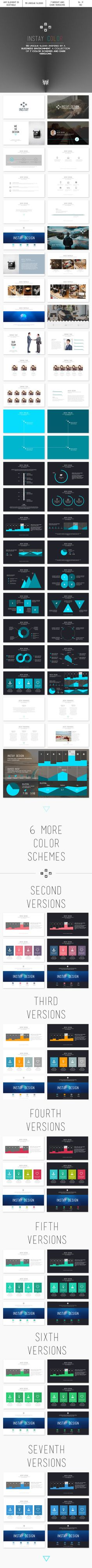 Instay Color 2.0 - PowerPoint Template