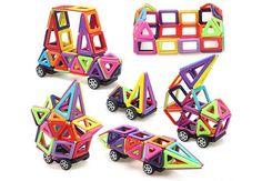 Magnetic Building Blocks Tiles Kids' Educational Set Construction 3d Magic Toys. #magneticbuildingblocks  #magneticbuildingblock  #magneticbuildingblocs Educational Toys For Kids, Kids Toys, Magnetic Building Blocks, Toys Shop, Different Shapes, Problem Solving, A Boutique, Brisbane, Melbourne